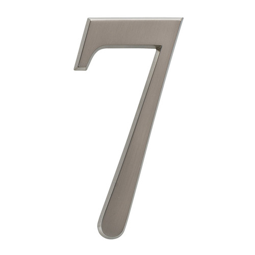 Whitehall 4 75 Quot Number 7 Brushed Nickel Zinc