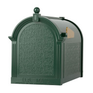 Whitehall Capital  Mailbox - Green - Aluminum