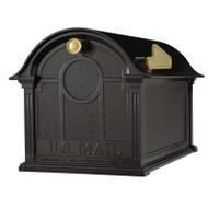 Whitehall Balmoral Mailbox  - Black - Aluminum