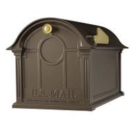 Whitehall Balmoral Mailbox  - Bronze - Aluminum