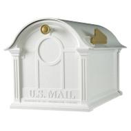 Whitehall Balmoral Mailbox  - White - Aluminum