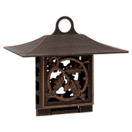 Whitehall Oak Leaf Suet Feeder - Oil-Rubbed Bronze - Aluminum