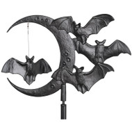 Whitehall Halloween Bat Garden Weathervane - Black - Aluminum