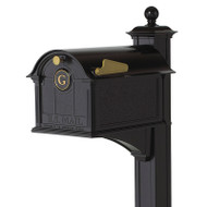 Whitehall Balmoral Mailbox Monogram & Post Package