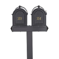 Whitehall Multi Mailbox Dual Capitol Package