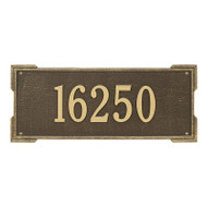 Whitehall Personalized Roanoke Plaque - Estate -Wall - 1 Line