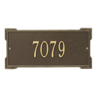 Whitehall Personalized Roanoke Plaque - Standard -Wall - 1 Line