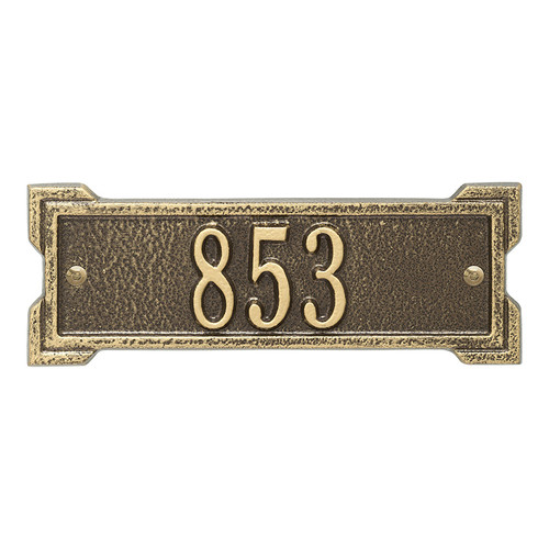 Whitehall Personalized Roanoke Plaque - Petite - 1 line