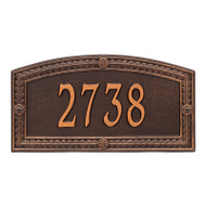Whitehall Personalized Hamilton Plaque - Standard - Wall - 1 line