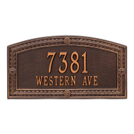 Whitehall Personalized Hamilton Plaque - Standard - Wall - 2 line