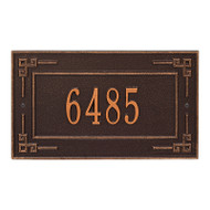 Whitehall Personalized Key Corner Plaque - Standard - Wall - 1 Line