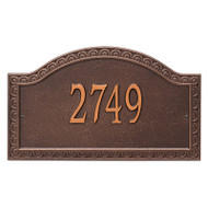 Whitehall Personalized Penhurst Plaque - Grande - Wall - 1 Line