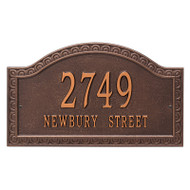 Whitehall Personalized Penhurst Plaque - Grande - Wall - 2 Line