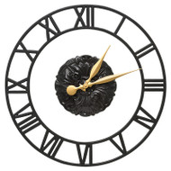 "Whitehall Cambridge Floating Ring 21"" Indoor Outdoor Wall Clock"