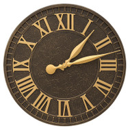 "Whitehall Geneva 16"" Indoor Outdoor Wall Clock"