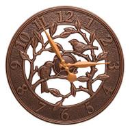 "Whitehall Woodridge 16"" Indoor Outdoor Wall Clock"