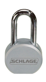 Schlage Portable Locks Heavy Duty Performance Steel Padlock KS72 Keyed Different Conventional Key In Knob With Cylinder