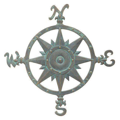 """Whitehall 23"""" Compass Rose Wall Décor"""