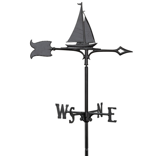 "Whitehall 30"" Sailboat Weathervane"