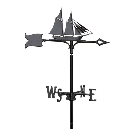 "Whitehall 30"" Schooner Weathervane"