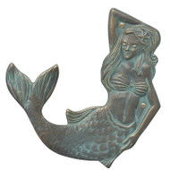 Whitehall Mermaid Towel Hook (left)