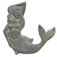 Whitehall Mermaid Towel Hook (right)