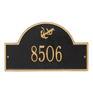 Whitehall Personalized Anchor Arch Plaque 1 Line