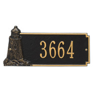 Whitehall Personalized Lighthouse Rectangle Plaque 1 Line