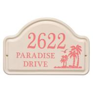 Whitehall Personalized Palm Ceramic Arch
