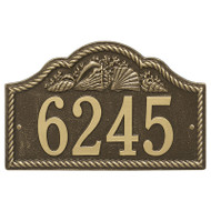 Whitehall Personalized Rope Shell Arch Plaque Wall