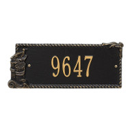 Whitehall Personalized Seagull Rectangle Plaque 1 Line