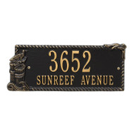 Whitehall Personalized Seagull Rectangle Plaque 2 Line