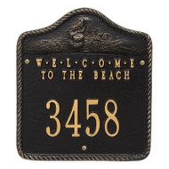 Whitehall Personalized Welcome To The Beach Plaque 1 Line