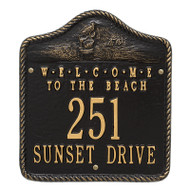 Whitehall Personalized Welcome To The Beach Plaque 2 Line