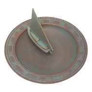 Whitehall Sailboat Sundial Birdbath