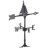 "Whitehall 30"" Sailboat Weathervane Rooftop"