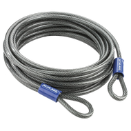 "Schlage Flex Security Double Loop 30' x 3/8"" Flexible Steel Cables"
