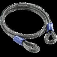 "Schlage Flex Security Double Loop 7' x 3/8"" Flexible Steel Cables"