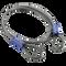 "Schlage Flex Security Double Loop 4' x 3/8"" Flexible Steel Cables"