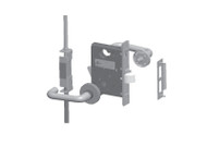 Schlage Multipoint Tornado LM9300 Series 3 Point Lock - Standard Collection Lever