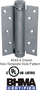 Bommer Single Acting Spring 6 inch Hinge - 4040-6