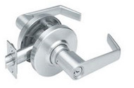 Schlage Entry function lever lockset AL series, Saturn lever