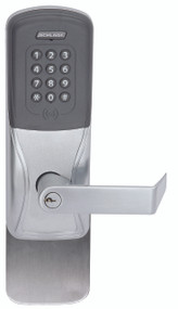 Schlage Electronic AD 401 Series FIPS 201-1 Networked Wireless Locks Exit Trim - Surface Vertical Rod