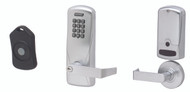 Schlage Electronic CO 220 Series Classroom Lockdown Standalone Offline Locks With Remote FOB Exit Trim - Rim/Concealed Vertical Rod/Cable