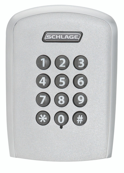 Schlage CO Series Parts CO-100, Keypad Only Reader Module with Exterior Escutcheon Cylindrical