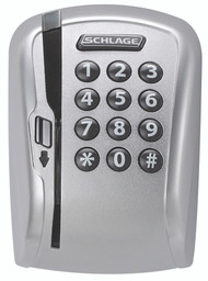 Schlage CO Series Parts CO-200, Magnetic Stripe (Swipe) with Keypad Reader Module - (Track 1, 2, or 3) with Exterior Escutcheon Mortise Deadbolt