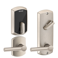 """Schlage Control""""¢ Multi Family Smart Interconnected Grade 2 Locks UL Listed, 90 minutes FE410F  - Greenwich"""