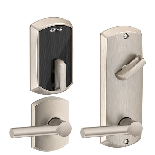 "Schlage Control""¢ Multi Family Smart Interconnected Grade 2 Locks UL Listed, 90 minutes FE410F  - Greenwich"