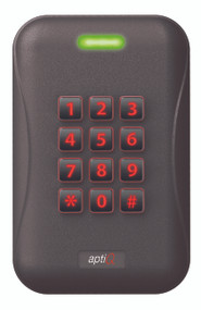 Schlage, aptiQ™, XceedID™ Reader Covers Single Gang with Keypad MTK15 Reader – Warm-Tone Brown  23846637