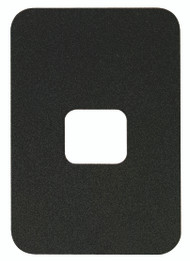 "aptiQ and XceedID Reader Replacement Parts Cosmetic Backplate Cover – Single Gang (5.65"" x 3.85"") CP-15"